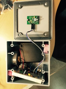 ATMega328 battery powered motion sensor