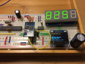 ESP-1 uses I2C to control all components